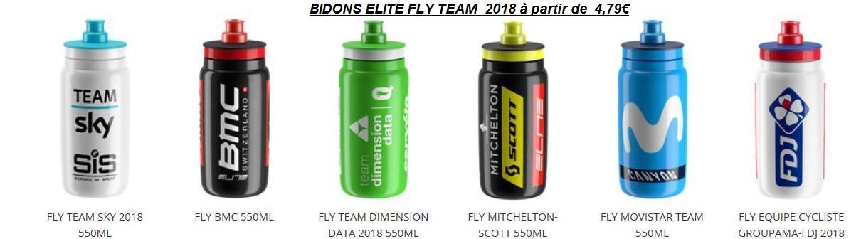 Bidons Elite Fly Team