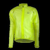 Coupe vent Imper Rogelli Crotone respirant , hydrofuge jaune fluo
