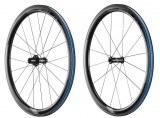 Paire de Roues Giant SLR 1 42mm carbone à pneus (tubes type et Tubeless)