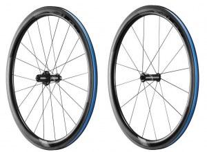 Paire de Roues Giant SLR 1 42mm carbone à pneus 2018 (tubes type et Tubeless)