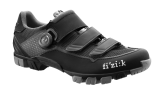 Chaussures vtt Fizik M6B UOMO noir/gris 2018