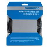 Kit Cables Gaines Shimano Optislik dérailleurs av/ar XTR XT