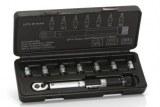 Clé XLC Dynamometrique 1/4° TO-S41 avec embouts 2-2,5-3-4-5-6 mm; T25