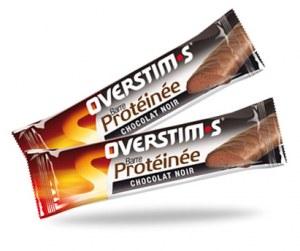Overstims Barres Hyperprotéiné Chocolat Noir (boite de 10)