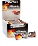 Overstims Barres hyperprotéinée Chocolat Noir (boite de 42)