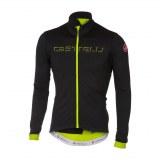 Maillot Castelli Fondo thermique noir/jaune