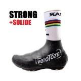 Sur-chaussures VELOTOZE Super STRONG Latex noir Route et Vtt