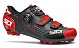 Chaussures Sidi Trace MTB noir/rouge