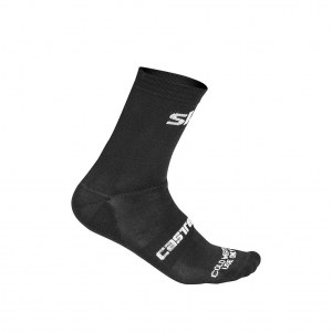 Chaussettes Castelli Cold Weather 13 SKY 2019
