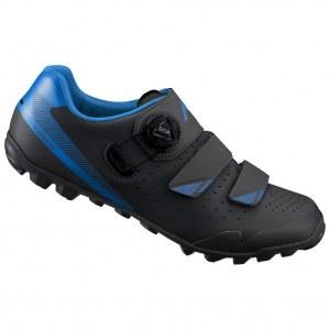 Chaussures Shimano VTT ME400 Noir/bleu