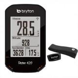 Compteur GPS BRYTON RIDER 420H avec ceinture cardio
