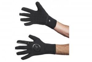 Gants ASSOS GT RAIN Glove NOIR (anti pluie) Noir