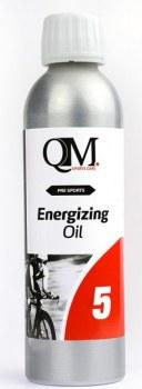 Huile QM Sport Care Q5 Energisante de préparation chauffante 250ml