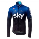 Maillot Castelli Thermal SKY 2019 manches longues