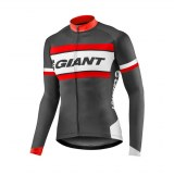 Maillot Giant RIVAL Manches Longues noir rouge