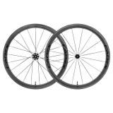 Paire de Roues CADEX Carbone 42mm pneus tubeless (freins à patins) +housses