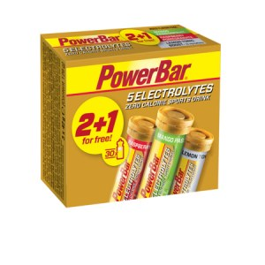 PowerBar 5 Electrolytes MultiPack (packs de 2+1 X 10 tablettes)