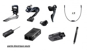 Groupe Shimano Ultégra 8050 DI2 ;partie électrique seule (avec chargeur)