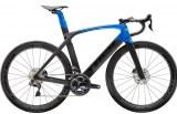 Vélo Trek Madone SL 7 Disque 2020 noir/bleue (lit matériel offert)