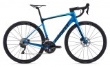 Vélo Giant Defy Advanced PRO 3 DISC 2020 Bleue (kit matériel offert)
